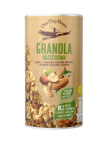 Granola Orzechowa OneDayMore